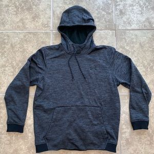 Men's under armour cold gear grey hoodie size m